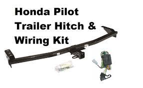 2003 honda pilot trailer hitch 03 08 honda pilot trailer hitch w wiring kit no drill ebay