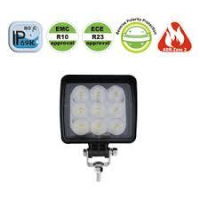 led work lights for trucks 18w led work l flood beam lucidity europe led lights for trucks