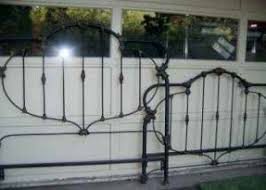 full size iron headboard foter