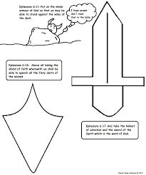 armor of god coloring pages inside page creativemove me