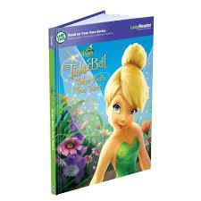 amazon leapfrog leapreader book disney fairies tinker bell u0027s