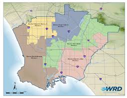 Los Angeles District Map by Board Profiles Water Replenishment District Of Southern