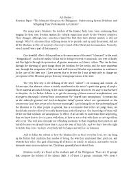 how to write reaction paper step by step reaction paper mindanao monotheistic religions