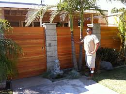 home custom steel framed and wood framed gates in lakewood and