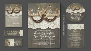 Rustic Wedding Invitations Cheap Rustic Wedding Wedding Invitations By Jinaiji