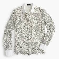 j crew blouses all things simplified review j crew edged lace blouse