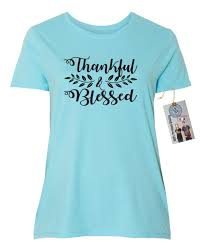 thanksgiving tshirt thankful blessed thanksgiving shirt plus size womens sleeve t