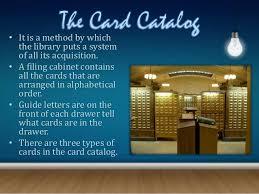 card catalogs
