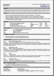 Simple One Page Resume Sample by 1 Page Resume Or 2 Molrol Com
