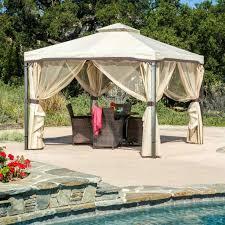 Outdoor Patio Gazebo 12x12 Gazebo Curtains Canopy Tent Steel Curtains Outdoor Patio Gazebo
