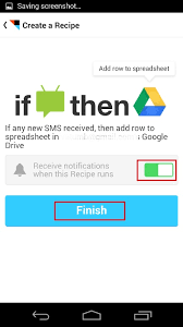 ifttt android use ifttt to backup android text messages sms on drive