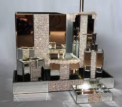 crystal mirror bath accessories home bath bath accessories tsc