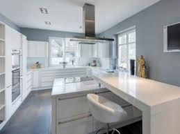 modern home interior design grey cabinets blue walls design home