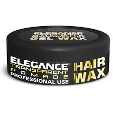 Pomade Wax elegance transparent pomade hair wax 5 oz strong hold