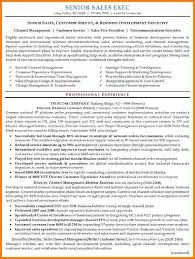Telecom Sales Executive Resume Sample by 6 Executive Resume Samples Resume Reference