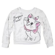 disney aristocats marie girls sweatshirt white target 11 89