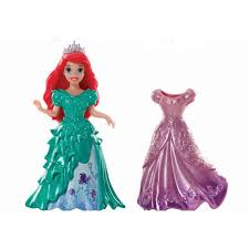 princess magiclip mermaid ariel doll fashion