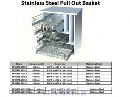 kitchen furniture accessories kitchen basket chrome stainless steel furniture hardware
