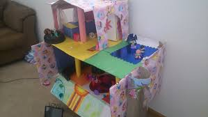 Monster High Doll House Furniture How To Make Doll House With Cardboard Swimming Pool Youtube