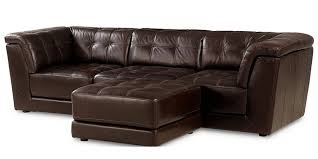 Stacey Leather Sectional Sofa Sectional Sofas 4 Pieces Sectional Sofa Designs Trends Ideas