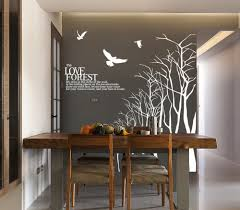 creative dining room wall decals inspiration home designs