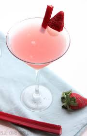 martini strawberry strawberry rhubarb cosmopolitan my suburban kitchen