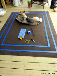 9 outdoor area rug creative cain cabin