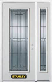 full glass entry door this beautiful green entryway door set is pre finished steel from