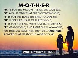is the meaning of happy mothers day