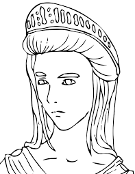 ancient greece coloring pages ancient greek gods coloring pages
