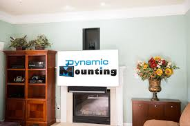 fireplace tv mount lowering tv mount dynamic mounting