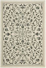 Black Sand 3 5 Exotic Black And Sandy Beige Outdoor Rug Safavieh Com