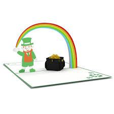 leprechaun pop up st patrick u0027s day card lovepop