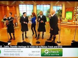 celtic thunder on qvc st s day celebration 2011 3