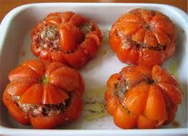 cuisiner le coeur de boeuf tomates farcies de stéphanie
