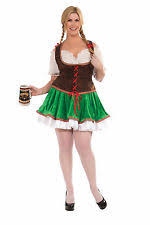 complete costumes for s plus size oktoberfest ebay