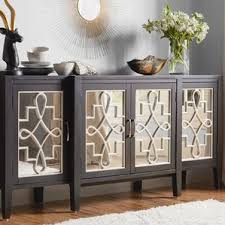 home design elegant mirrored sideboards buffet cabinet sideboard