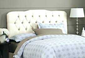 Padded King Size Headboards by White Wood Headboards King Size Beds Lowe Smoke Grey Leather King