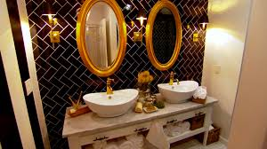 black u0026 white bathrooms hgtv