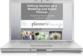 wedding planner course wedding planner course