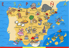 A Map Of Spain by Spain Map Illustrated Jpg