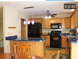 paint ideas for kitchen with blue countertops just bought this house what colors would you paint the