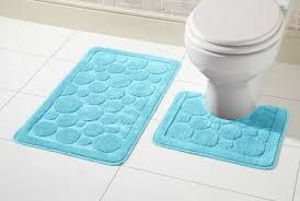 Non Slip Bath And Pedestal Mats Cali Bath Mat Set 2 Piece Non Slip Rubber Pedestal Mat Toilet