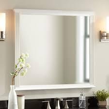 livia vanity mirror white bathroom