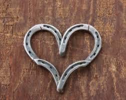 heart shaped horseshoes horseshoe i heart you horseshoe valentines day gift