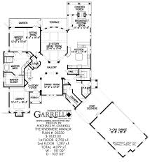 french floor plans rivermere manor house plan house plans by garrell associates inc