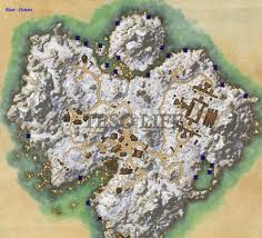 Bal Foyen Treasure Map Eso Bleakrock Angler Achievement Guide Eso Life