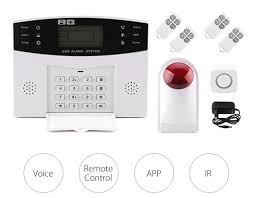 smart voice alarm anti theft home security system reviews and