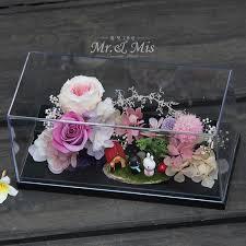 Flower Preservation Flower Preservation Glass Preserved Flower Boxes Preserved Roses