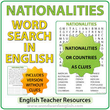 word search nationalities printable past tense irregular verbs word search woodward english